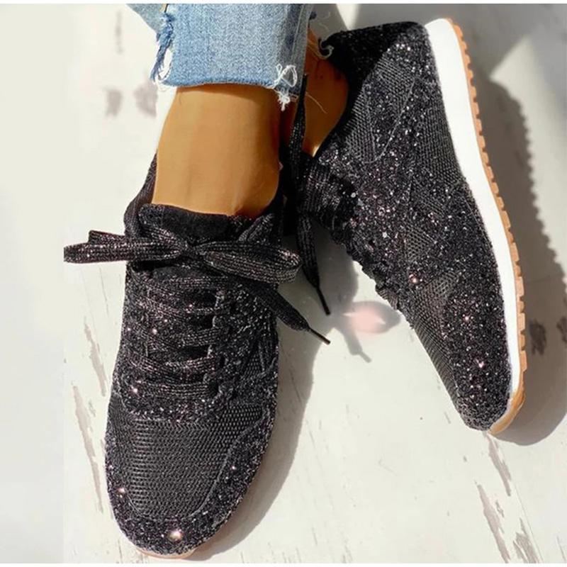 Lace-Up Comfy Women's Sneakers