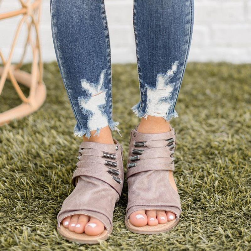 Casual Soft Open Toe Sandals