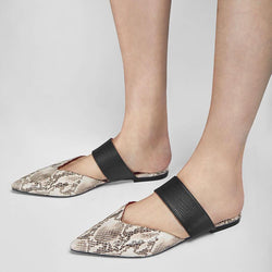 Elegant Slip-On Flat Slippers