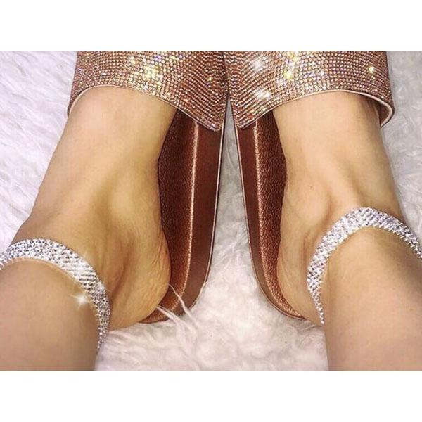 Women Crystal Ankle Bracelet