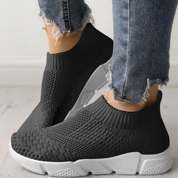 Women Plus Size Sport Shoes Breathable Casual  Sneakers