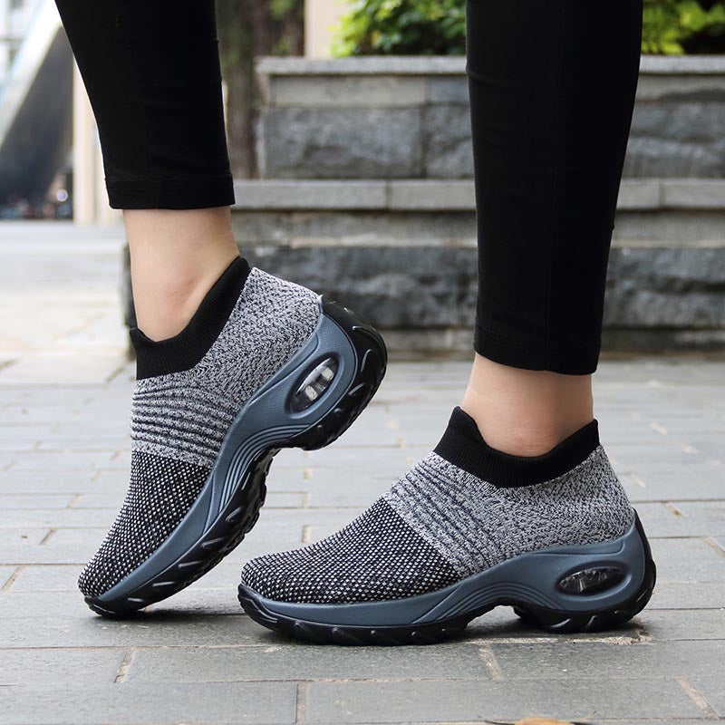 Women's Multi-Color Slip-On Cushion Sneakers