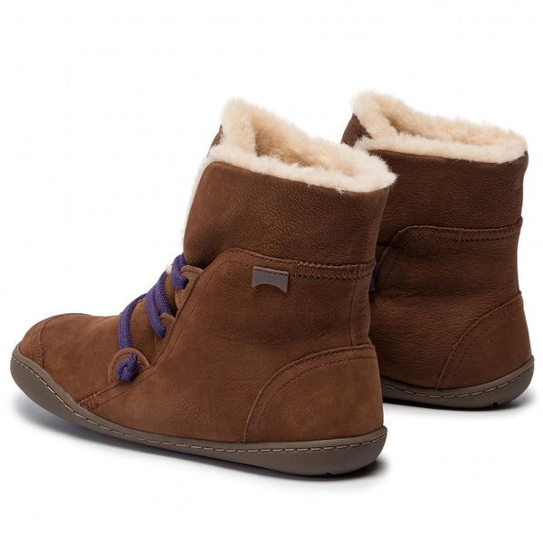 Female Lace-up Flat Heel Snow Boots