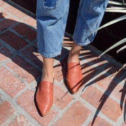 Casual Pointed Low Heel Shoes