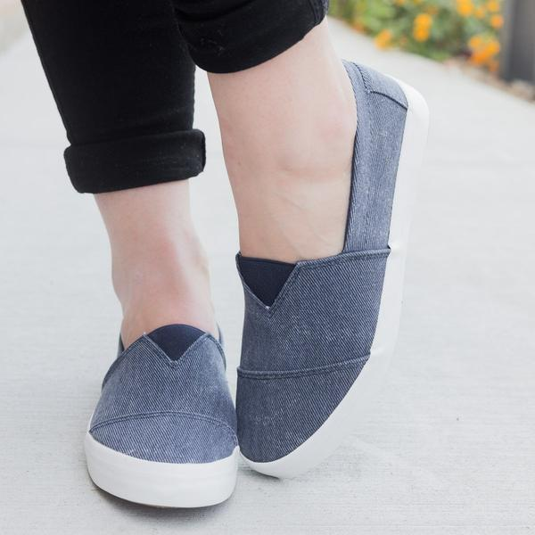 Casual Slip-On Flat Shoes