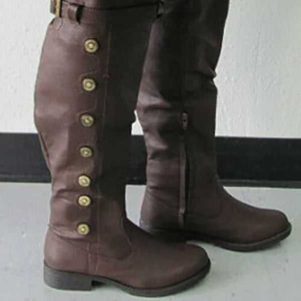Vintage Knee High Boots