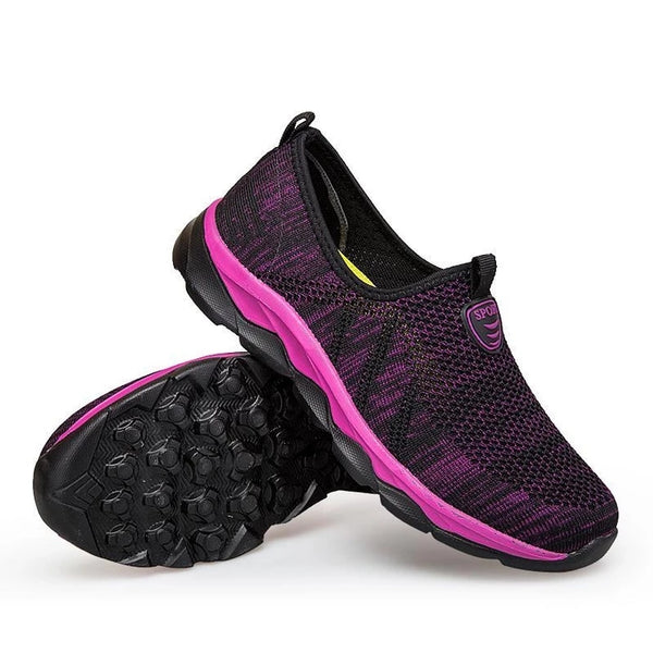Women's Middle-aged Walking Sneakers