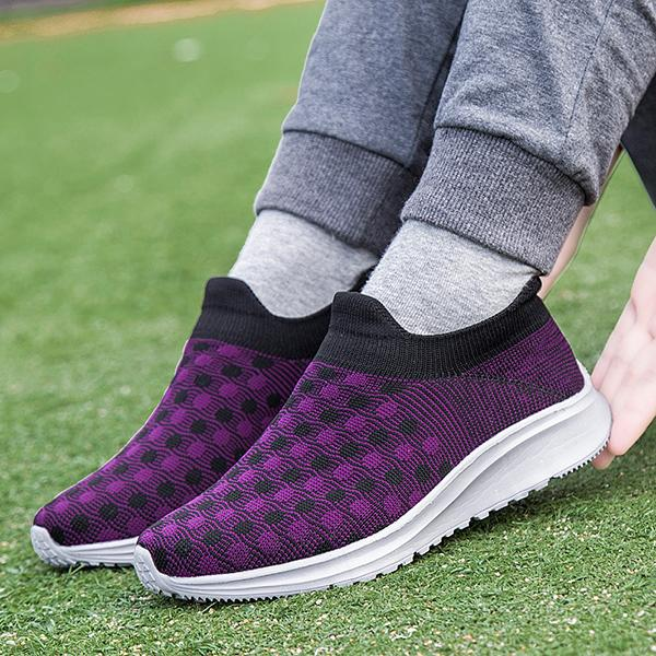 Women's Breathable Slip-On Sneakers