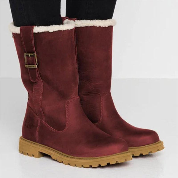 Casual Round Toe Warm Soft Snow Boots