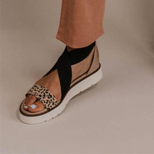 Fashion Wild Leopard Sandals