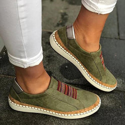 Fashion Solid Color Casual Sneakers