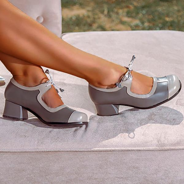 Casual Chunky Heel Slip-On Women Sandals