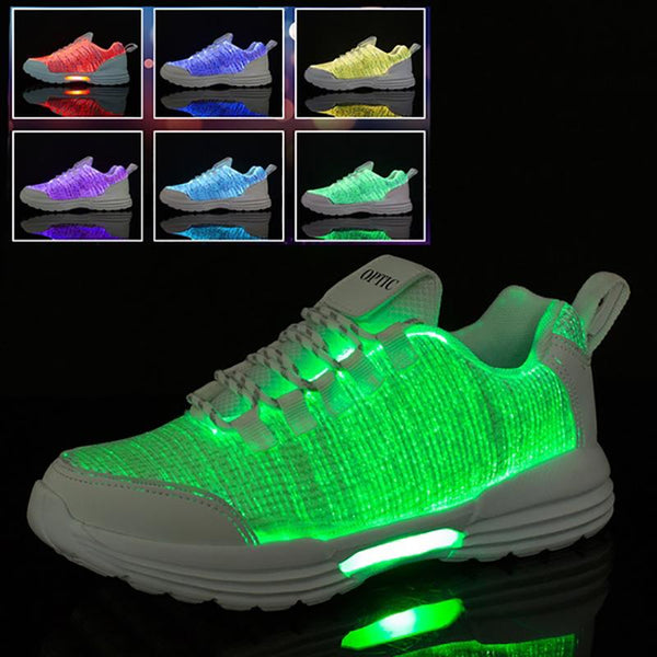 Casual Light Up Led Luminous Sneakers