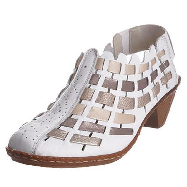 Summer Women's Breathable Low Heel Sandals