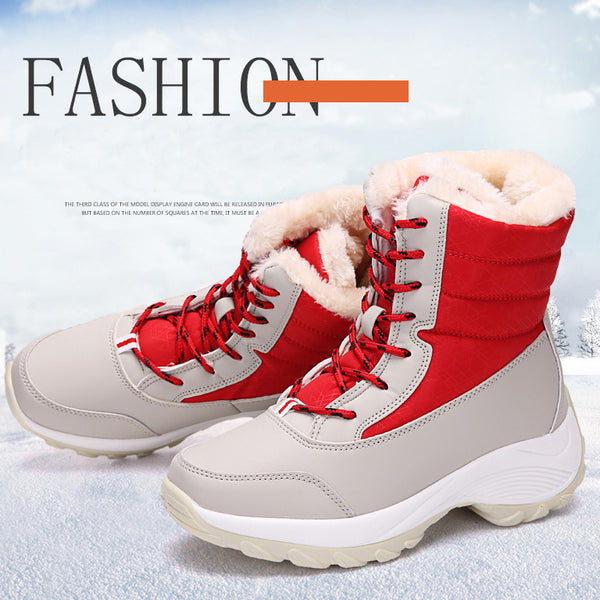 Women Snow Waterproof Non-slip Parent-Child Winter Boots