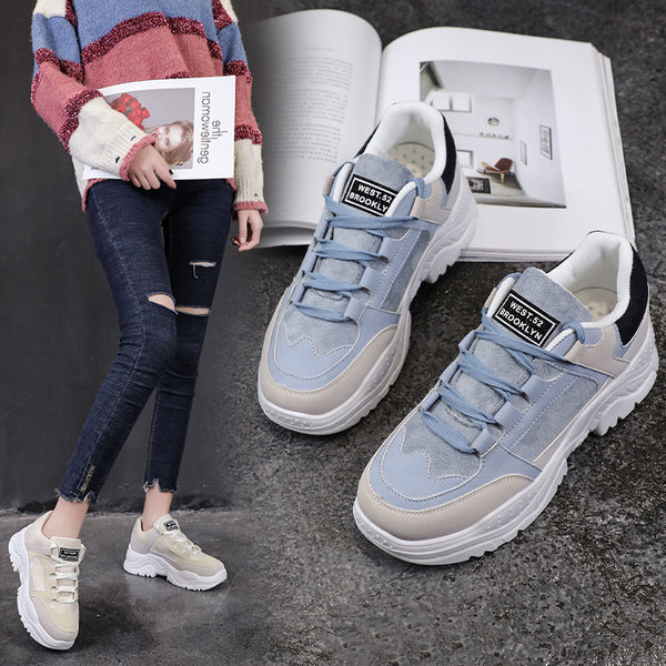 Winter Woman Warm Snow Faux Suede Fur Casual Sneakers