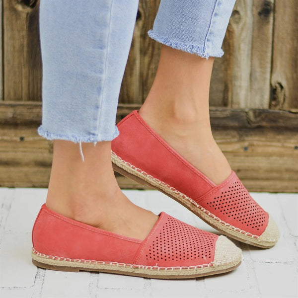 Plain Flat Round Toe Casual Travel Flat & Loafers