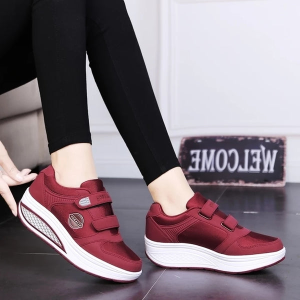 Outdoor Running Fitness Shoes Lady Lose Weight Sneakers