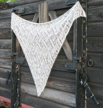 Shawl worked in Kid Mohair