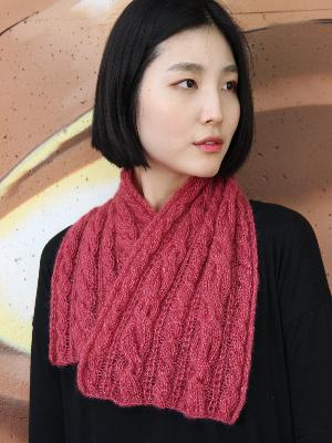 Cabled Neck Wrap