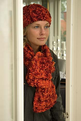 Pelargon Hat & Scarf