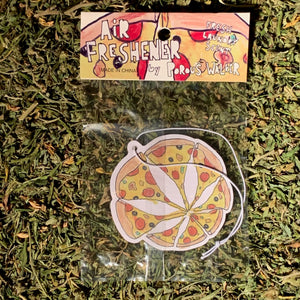 Porous Walker 420 Zine with FREE STICKER & AIR FRESHENER