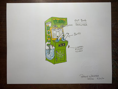 OUTBONG $4.20 Limited Edition Print