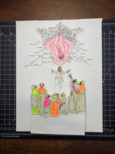Load image into Gallery viewer, HE IS RISEN ORIGINAL DRAWING ANIMATION PIECES