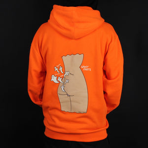Ghost Farts Hoodie (Orange)
