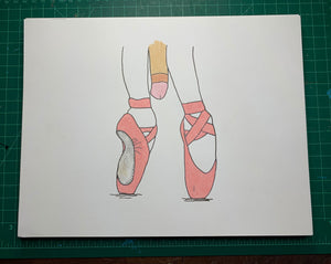 BALLET Original Drawing