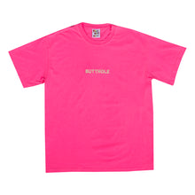 Load image into Gallery viewer, GLOW IN THE DARK BUTTHOLE Tee (NEON PINK)