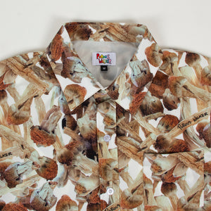 SHROOMS BUTTON UP