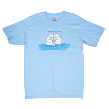 Load image into Gallery viewer, Dolphin Tee (Light Blue)