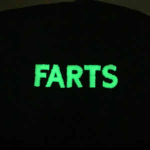 GLOW IN THE DARK FARTS Tee (NEON PINK)