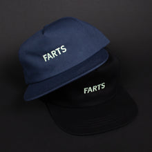 Load image into Gallery viewer, GLOW IN THE DARK FARTS Snapback Hat (Black)