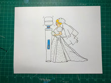 Load image into Gallery viewer, I DO HITACHI WAND Original Drawing