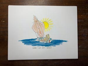 Loose Lips Sail Ships Limited Edition Print
