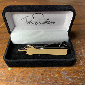 Middle Finger Tie Clip with Free pair of sox!