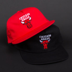 Chicago Balls Hat (Red)