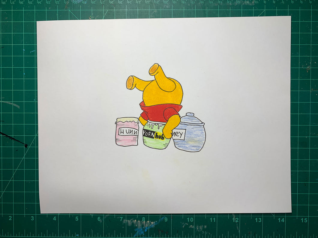 POOH HUB Original Drawing