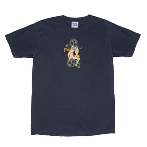 Wheelchair Tee (Vintage Black)