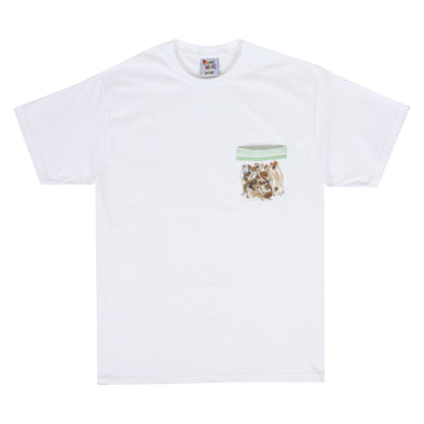BAG OF SHROOMS POCKET TEE