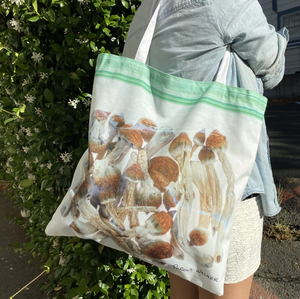BAG OF SHROOMS TOTE BAG, TSHIRT, STICKER BUNDLE