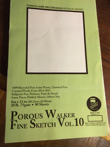 Porous Walker Fine Sketch Vol.10 , Edition no.1