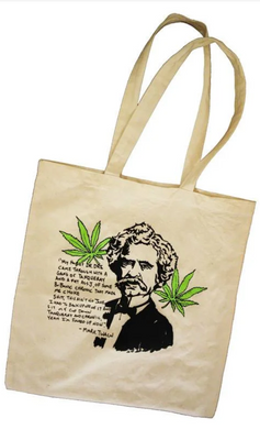 Mark Twain Quote Tote