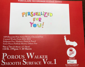 Porous Walker Smooth Surface book Vol. 1 with FREE RED DONGZ SOX