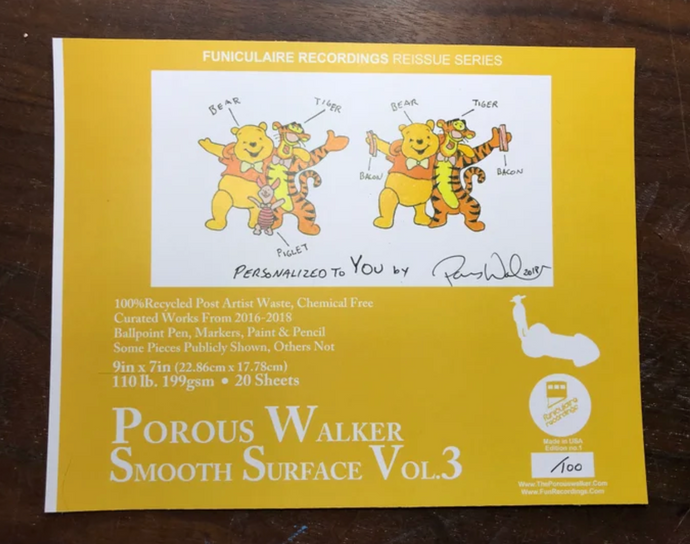 Porous Walker Smooth Surface Vol. 3 with FREE Perfect TShirt