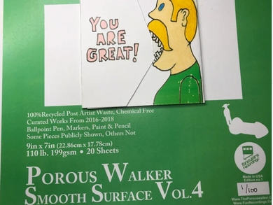 Porous Walker Smooth Surface Vol. 4