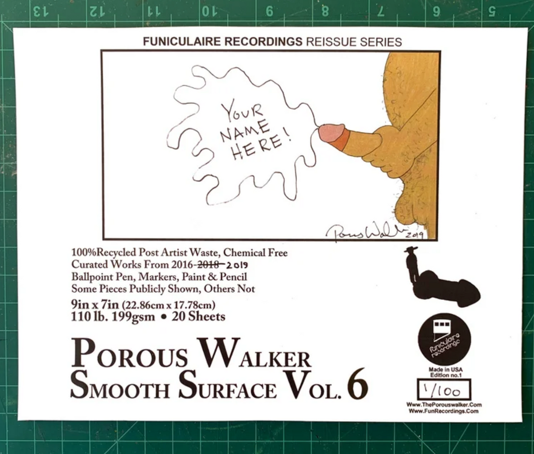 Porous Walker smooth surface vol. 6 plus FREE GREEN DONGZ SOX