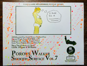 Porous Walker Smooth Surface Vol. 7 WITH 2 PAIRS OF FREE SOX